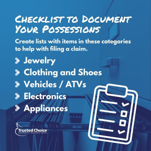 Illustration of a checklist